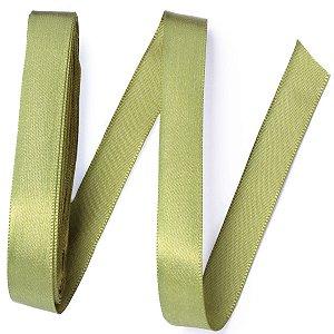 Fita de cetim Gitex nº3 - 15mm c/10mts -  127 verde musgo