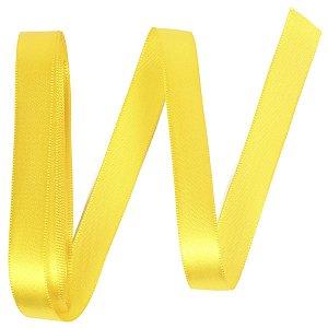 Fita de cetim Gitex nº3 - 15mm c/10mts - 109 amarela