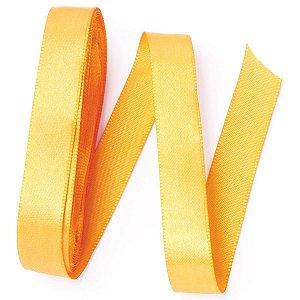Fita de cetim Gitex nº3 - 15mm c/10mts - 115 amarela