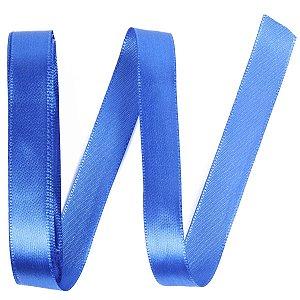 Fita de cetim Gitex nº3 - 15mm c/10mts - 158 azul