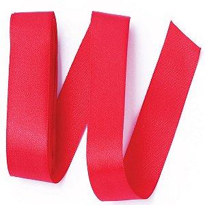 Fita de cetim Gitex nº5 - 23mm c/10mts - 107 vermelha