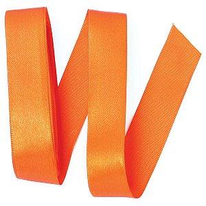 Fita de cetim Gitex nº5 - 23mm c/10mts - 110 laranja