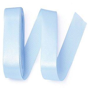 Fita de cetim Gitex nº5 - 23mm c/10mts - 112 azul hortência