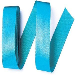 Fita de cetim Gitex nº5 - 23mm c/10mts - 121 azul petróleo