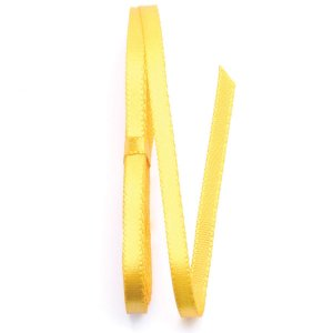 Fita de cetim Sinimbu nº1 - 6mm c/10mts - 005 amarelo ouro