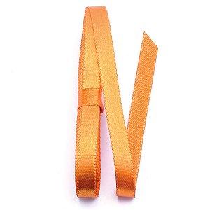 Fita de cetim Sinimbu nº2 - 10mm c/10mts -  1417 laranja