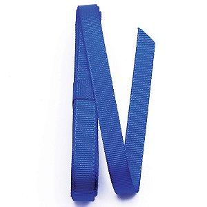 Fita de gorgurão Sinimbu nº2 - 10mm c/10mts - 1654 azul royal