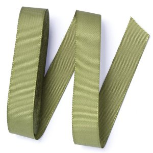 Fita de gorgurão Sinimbu nº5 - 22mm c/10mts - 1413 verde musgo