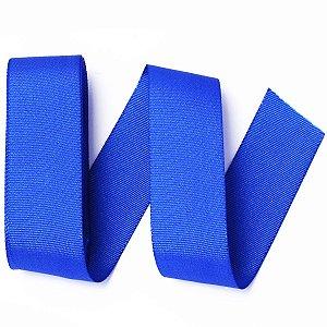 Fita de gorgurão Sinimbu nº9 - 38mm c/10mts - 1654 azul royal