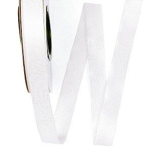 Fita de tafetá Fitex - 15mm c/50mts - branco