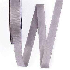 Fita de tafetá Fitex - 15mm c/50mts - cinza