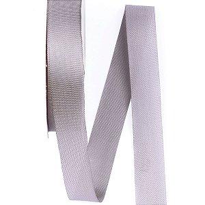 Fita de tafetá Fitex - 21mm c/50mts - cinza