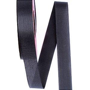 Fita de tafetá Fitex - 21mm c/50mts - preta