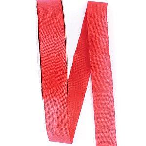 Fita de tafetá Fitex - 21mm c/50mts - vermelho