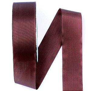 Fita de tafetá Fitex - 36mm c/50mts - marrom