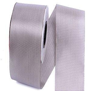 Fita de tafetá Fitex - 49mm c/50mts - cinza