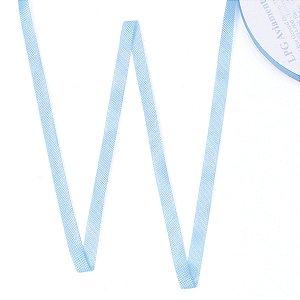 Fita de tafetá Fitex - 6mm c/50mts - azul celeste