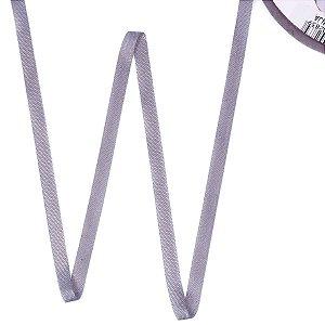 Fita de tafetá Fitex - 6mm c/50mts - cinza