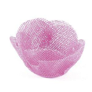 Forminhas para doces Alice tela- rosa