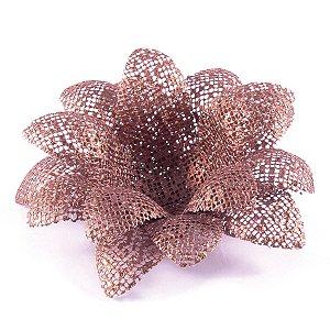 Forminhas para doces Aninha Tela - bronze