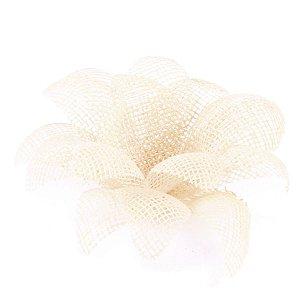 Forminhas para doces Aninha Tela - marfim