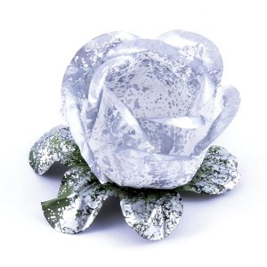 Forminhas para doces Bouganville Rosa - prata