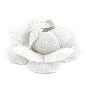 Forminhas para doces Camélia Chanel - branca