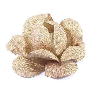 Forminhas para doces Camélia Chanel - dourada