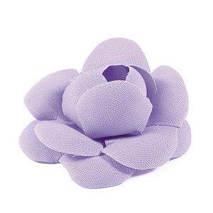 Forminhas para doces Camélia Chanel - lilás claro