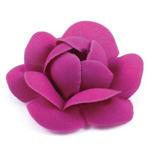 Forminhas para doces Camélia Chanel - rosa escuro