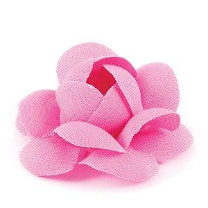 Forminhas para doces Camélia Chanel - rosa médio