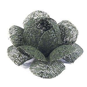 Forminhas para doces Camélia Chanel Tela - verde escuro