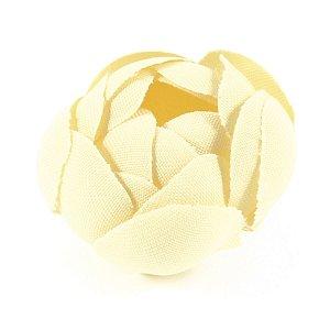 Forminhas para doces Camélia Fechada  - amarela claro