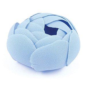 Forminhas para doces Camélia Fechada  - azul claro