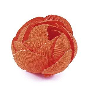 Forminhas para doces Camélia Fechada  - laranja escuro