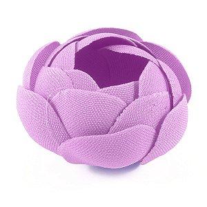 Forminhas para doces Camélia Fechada  - lilás