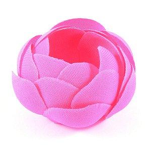 Forminhas para doces Camélia Fechada  - rosa chiclete
