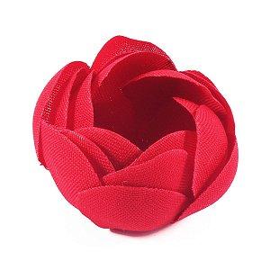 Forminhas para doces Camélia Fechada  - vermelho