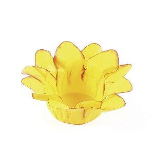 Forminhas para doces Lírio - amarelo queimado