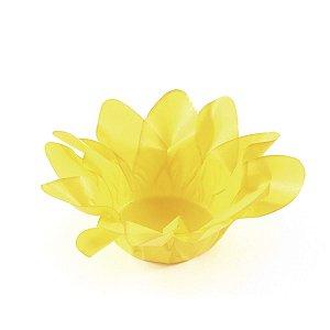 Forminhas para doces Lírio - amarelo vivo