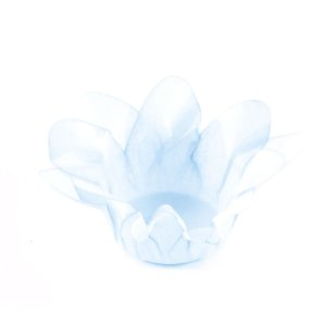 Forminhas para doces Lírio - azul bebê