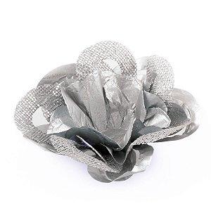 Forminhas para doces Nobile Fio - prata c/ prata