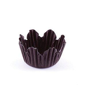 Forminhas para doces nº5 - marrom