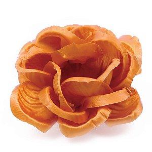 Forminhas para doces Rosa Grande frisada - laranja escuro