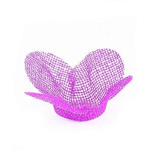 Forminhas para doces Tela Flor - violeta
