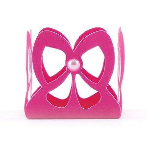 Forminhas para doces vasada Laçarote - pink