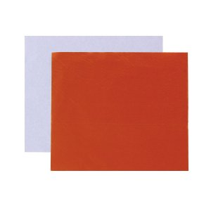 Papel chumbo para bombons 10X9,8cm - laranja