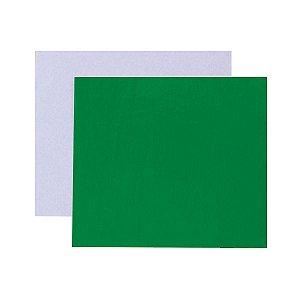 Papel chumbo para bombons 10X9,8cm - verde