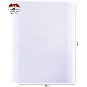 Saco transparente 72X90cm - 25 unid.