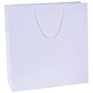 Sacola de papel  43,5X44,5X15cm - branca